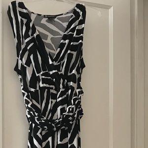 INC Maxi Sun Dress - With Double Wrap
